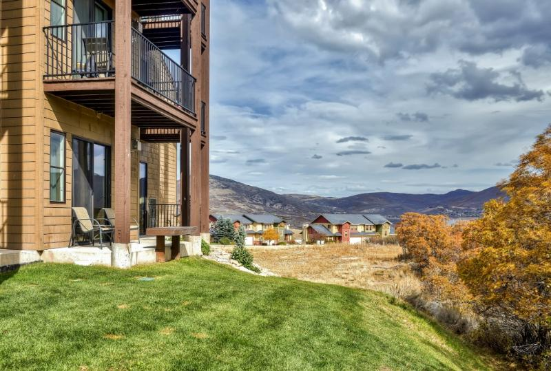 Enjoy spectacular mountain views when you stay at this wonderful Heber City vacation rental condo!