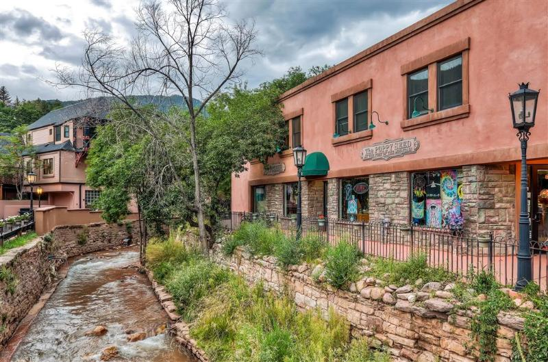 Let this delightfully unique Manitou Springs vacation rental condo serve as your home base for exploring colorful Colorado!