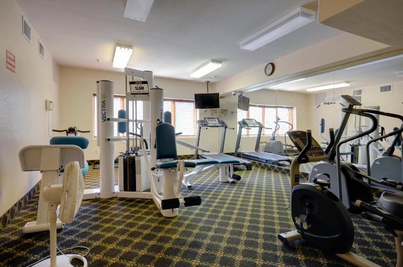 Exercise facility in Gateway (no charge).