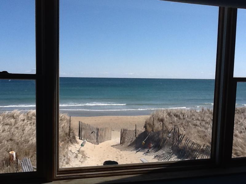 Ocean View from Master Bedroom (same for both 3 & 4 bedroom rental)