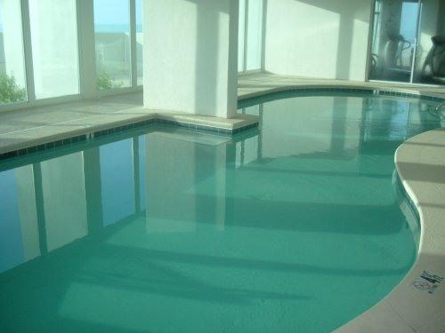Kids will love the HEATED indoor pool !!