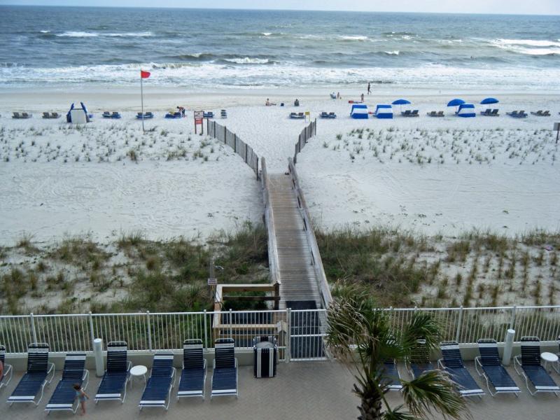 Boardwalk to paradise