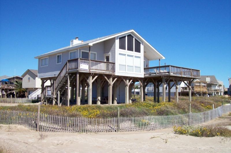 Beach House View From Beach