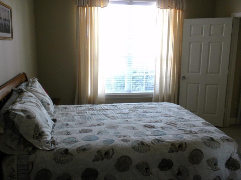 Huge Window for Enjoying Gulf Views fm Bedroom