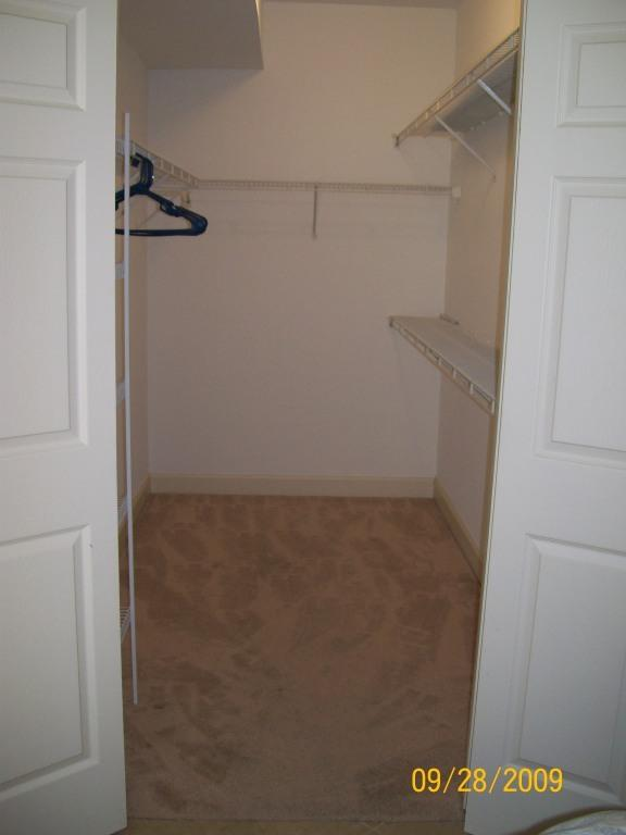 VERY Large Closet/Great For Extra Storage