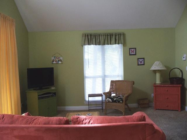 Unit A Upstairs - Living area