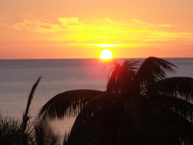 ....Sunset in Rincon