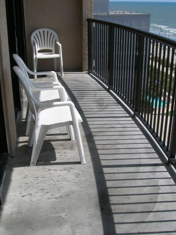 Super Sized Balcony