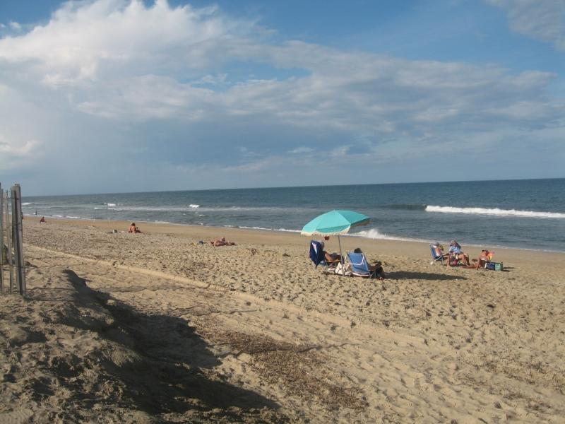 Kitty Hawk Public Beach < 1/2 mile from house