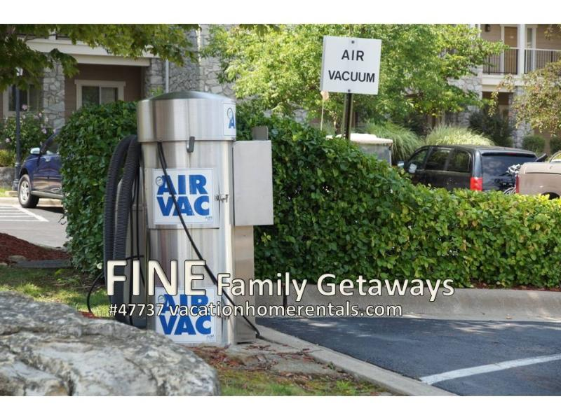 Free Air/Vac for your automobile, and plenty of boat parking at the resort