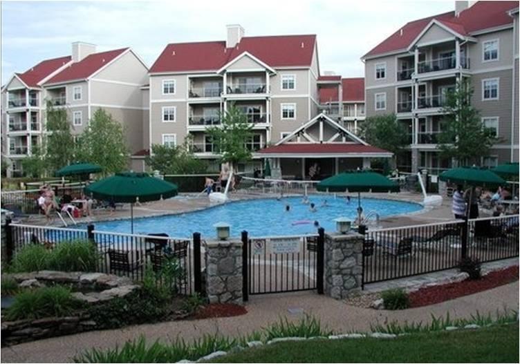 ... around the resort ... 1 of 5 pools ...