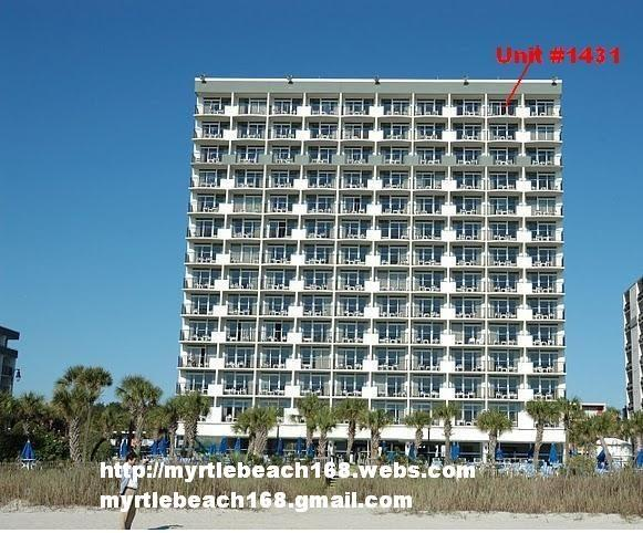 BoardWalk Beach Resort Penthouse #1431 Location