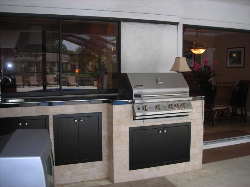 outdoor grille