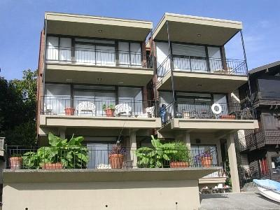 Ground floor unit just a few steps to the water with large patio and BBQ's. great views.