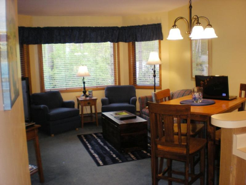 Comfortable Dining and Living Room Area