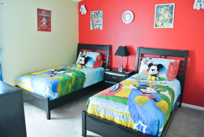 The Disney bedroom