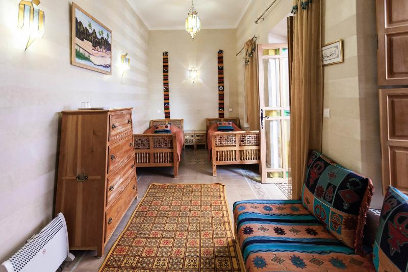 The Room Marrakesh single beds version