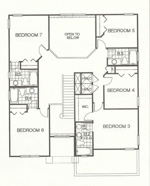 Floor Plan - 2nd Fl