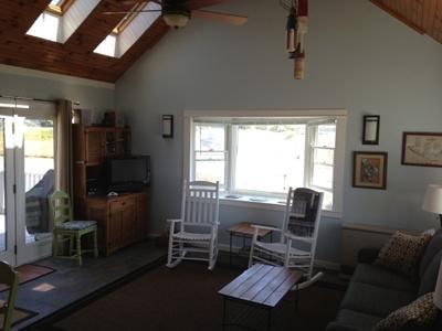 Living room side/back view