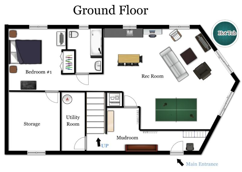 1st floor room layouts