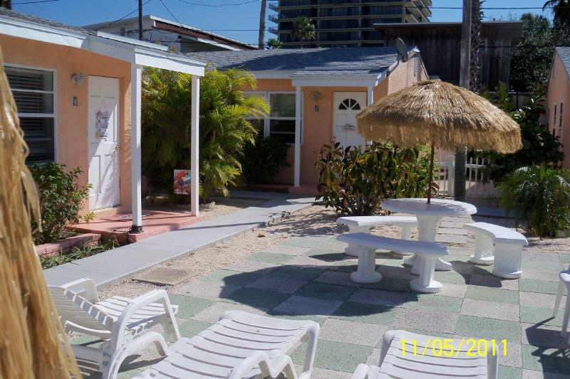 Patio for outdoor dining or sunbathing
