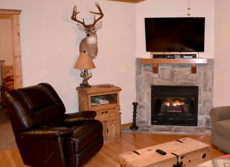 Comfy Recliner is a unique feature of our lodge.