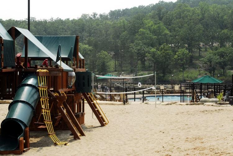 Volleyball, Pool, Great Playground...all just a few steps from the lodge.
