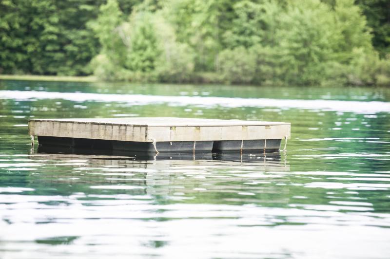 Private swim to float
