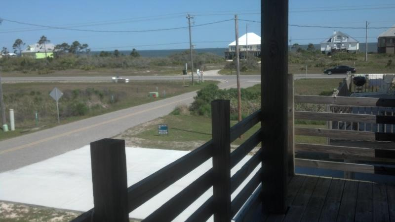 View of Mobile Bay from Front Deck