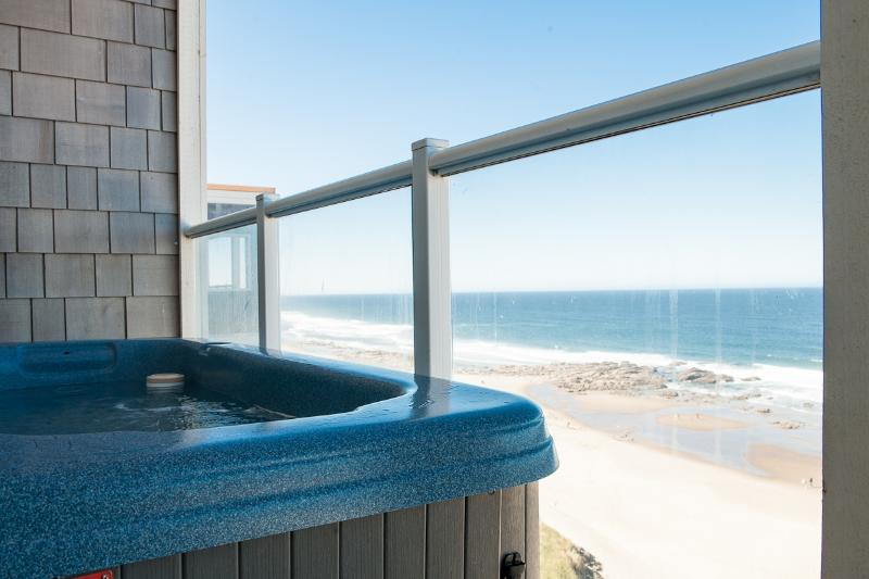 Relax in Your Private Oceanfront Hot Tub