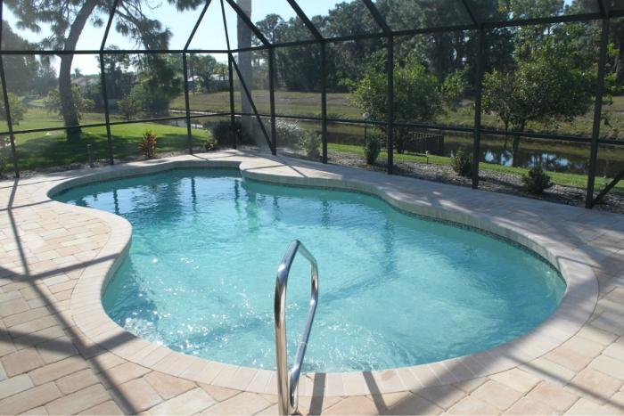 Recently re-modelled pool and lanai