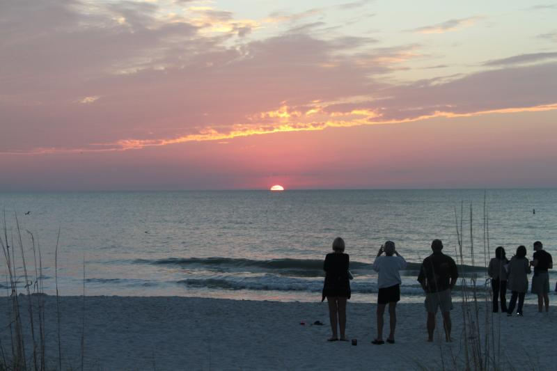 Sunset at local beach