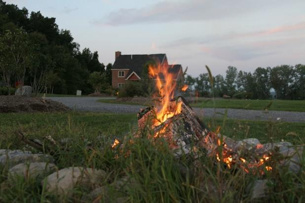 Enjoy a campfire at Cobtree