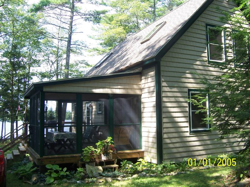 lakefront hideaway, location de vacances à Damariscotta