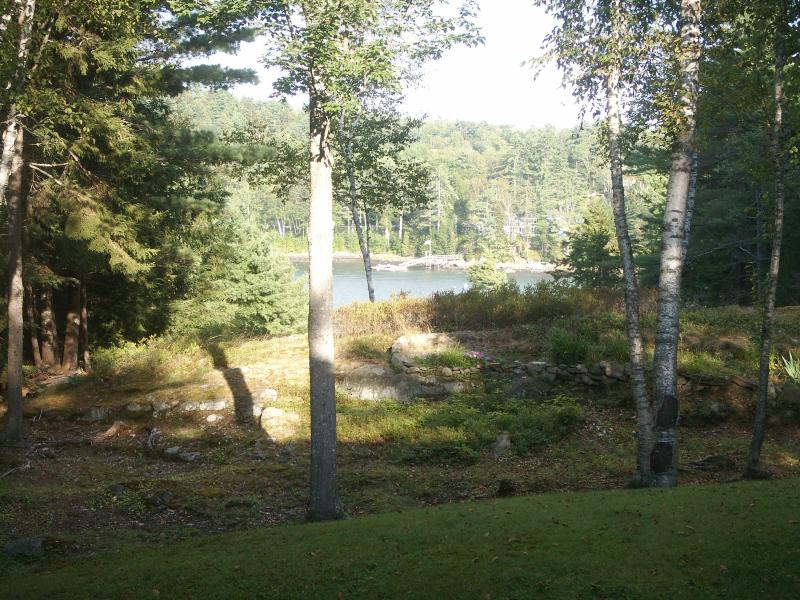 View to saltwater river....the Sheepscot