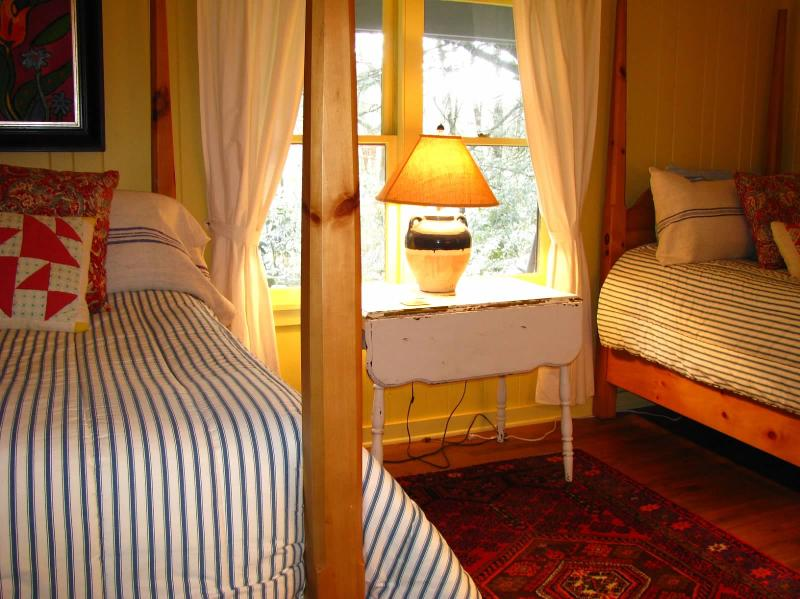 3rd bedroom offers two twin beds