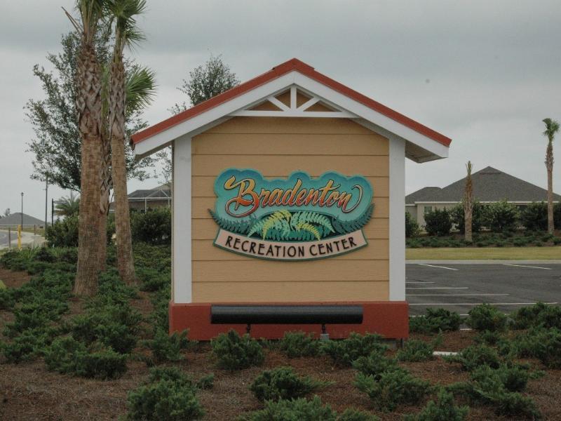 Bradenton Rec. Center  - Less then a 1/4 mile away a easy walk or golf cart ride