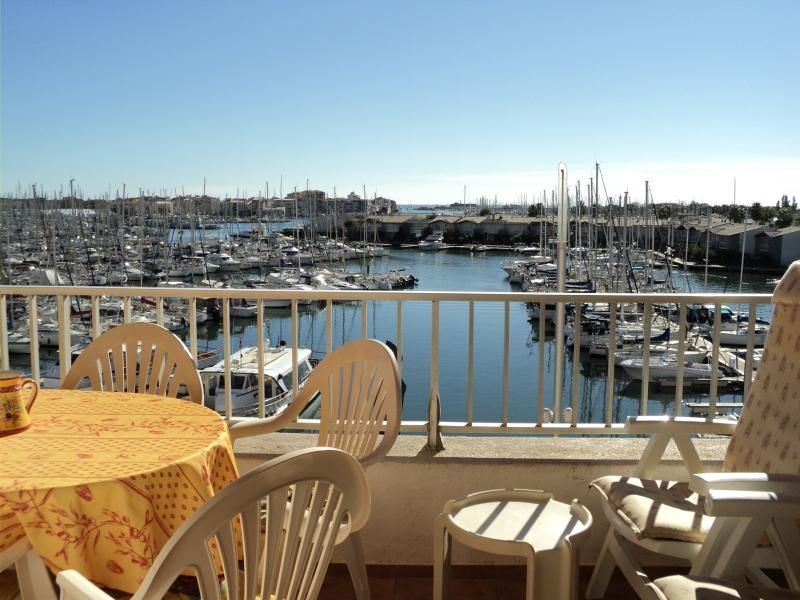 Terrace overlooking Centre Port - Stunning Views