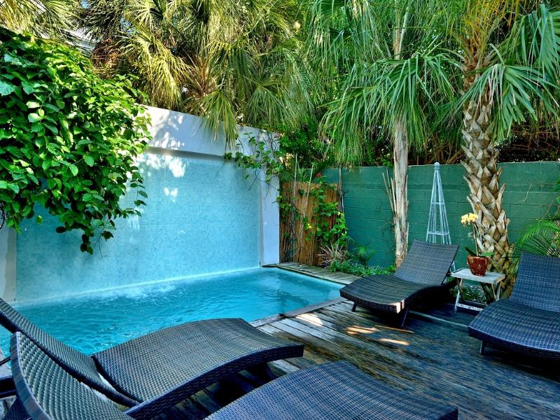 6 bedroom Duval Street Compound - Pool, Hot Tub, 2 parking spots - A++ Location, vacation rental in Key West