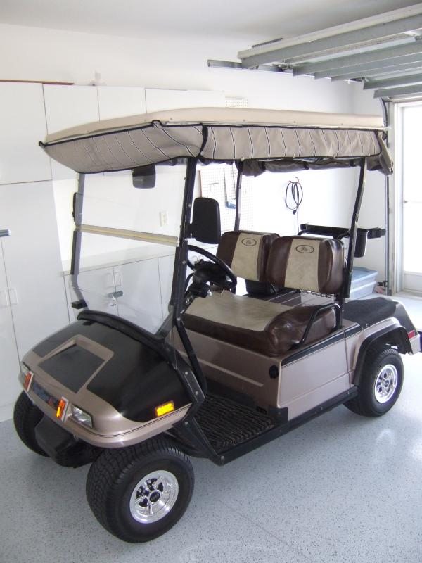Electric Golf Cart available for rent