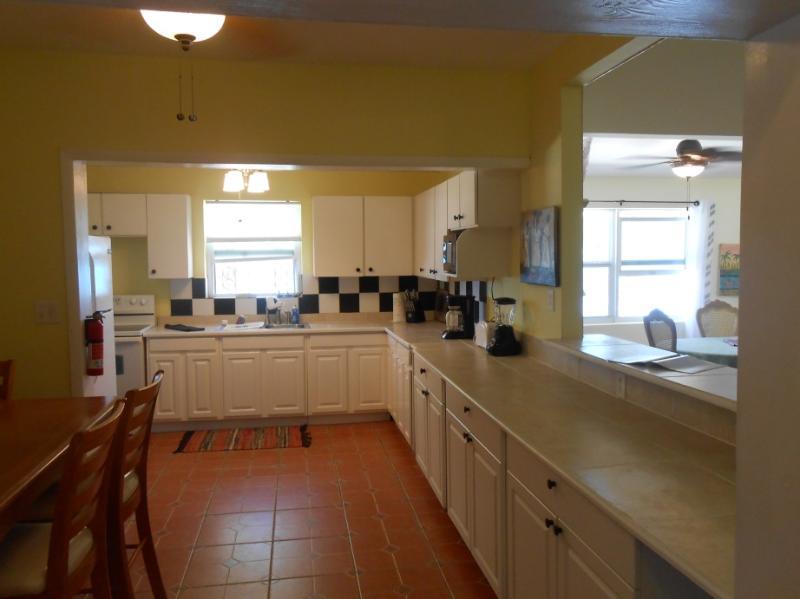 Big spacious kitchen.