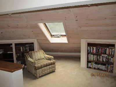 Reading Nook in Loft