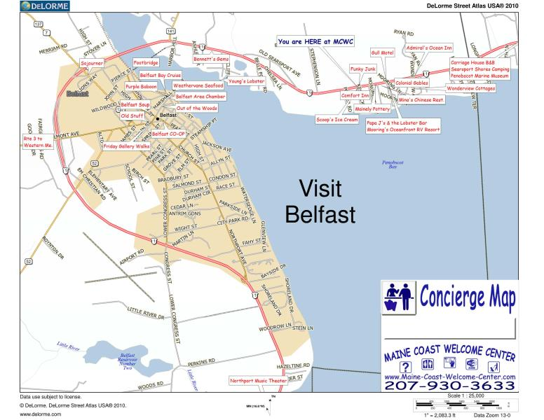 Lots to do in Belfast, site see, shop, great restaurants, real working port