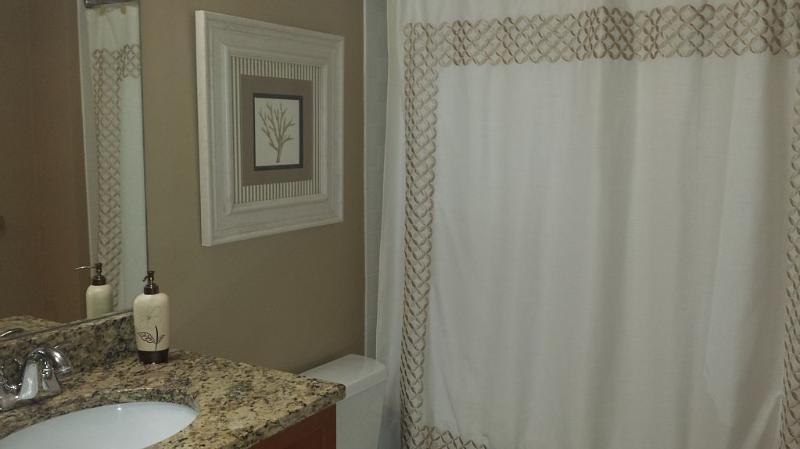 Bedroom 2's bathroom.