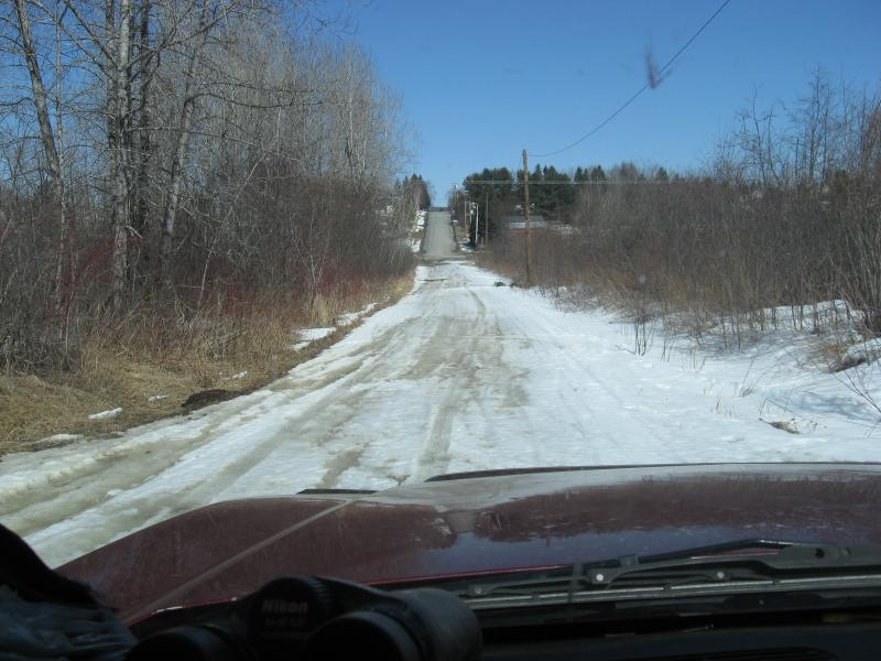 End of the road, But the start of a journey.4 Wheeling & Snowmobiling 2300 miles
