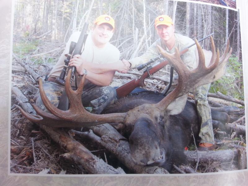 Big Moose hunt.