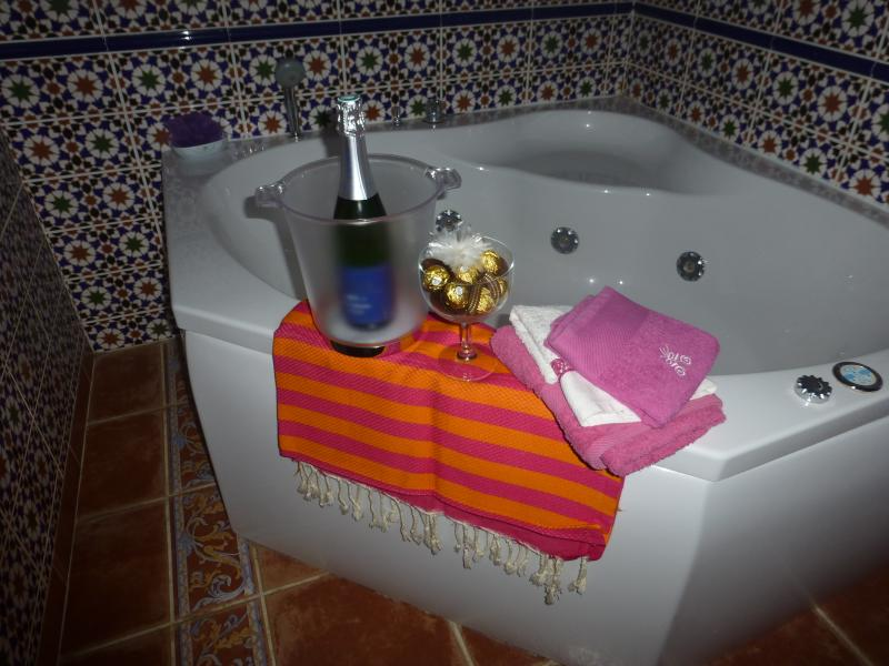 Spa - Whirlpool - no banheiro marroquino