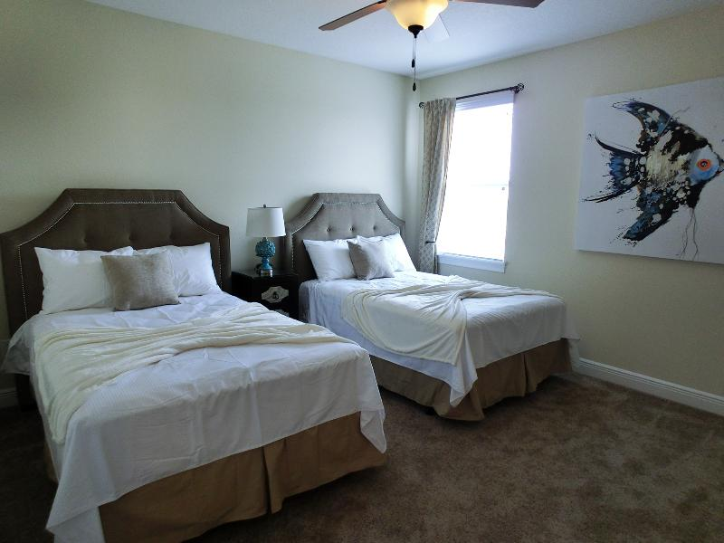 1 of 10 luxurious bedroom suites. Everyone gets their own room!