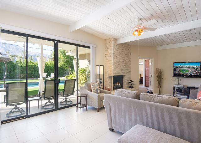 Patio from living room