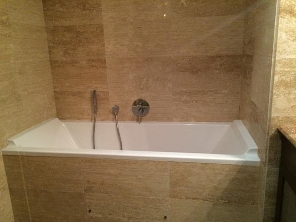 Bath in main bathroom